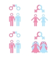 Gay marriage vector image vector image