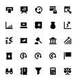 Market and Economics Icons 1 vector image vector image