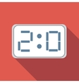 Score-board flat icon vector image vector image