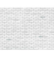 white brick background vector image vector image