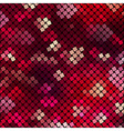 with mosaic vector image vector image