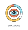Data Analysis vector image vector image