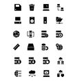 Database and Server Icons 2 vector image vector image