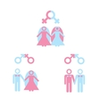 Gay marriage vector image