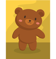 Grizzly Brown Bear Cartoon vector image vector image