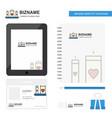 love candles business logo tab app diary pvc vector image vector image