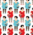 Prostitute seamless pattern Prostitutes in vector image vector image