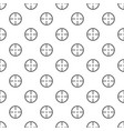radiolocating pattern seamless vector image vector image