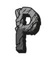 vintage alphabet letter p template