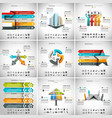 9 in 1 Infographic Bundle vector image