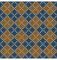Argyle background pattern vector image vector image