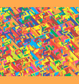 creative abstract colorful labyrinth seamless vector image vector image