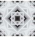 geometric black and white seamless pattern vector image vector image