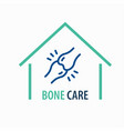 joint line icon on white background logo design vector image