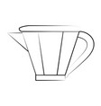 kettle tea time icon image vector image vector image