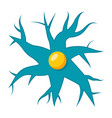 nerve cell icon vector image