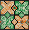 persian tile pattern vector image vector image