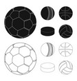 sport and ball icon vector image vector image