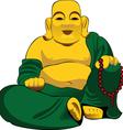 Buddha figurine vector image