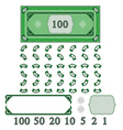 play money vector image