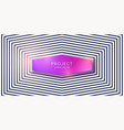 abstract background with black lines vector image vector image