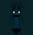 Digital virus design vector image