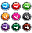 lighter set 9 collection vector image vector image