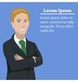 success businessman concept vector image vector image