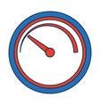 tachometer speedometer and indicator performance vector image