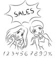 Women and sales