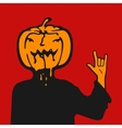 Halloween Cartoon Character vector image