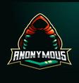 anonymous logo vector image