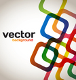 Colorful Abstract Squares vector image vector image