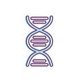 dna science cell medicine molecule vector image vector image