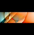 dynamic trendy geometrical abstract background