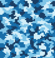 fashion camouflage pattern vector image vector image