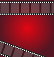 filmstrip frame background vector image vector image