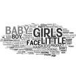 girls word cloud concept vector image vector image
