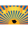 graduation background vector image vector image