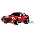 muscle car vector image vector image