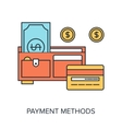Payment Methods vector image vector image
