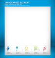 template modern design template vector image
