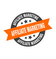 affiliate marketing sign affiliate marketing vector image vector image