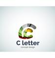 C letter concept logo template