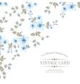 Flower texture on vintage card