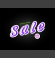 sale banner template design trendy big banner for vector image vector image