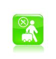 travel food icon vector image vector image