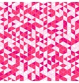 Triangle Mosaic Seamless Pattern vector image vector image
