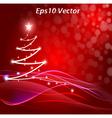 xmas tree vector image
