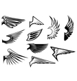 Bird wings vector | Price: 1 Credit (USD $1)